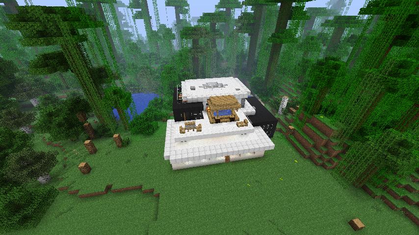Chambre moderne minecraft design de maison - Maison minecraft design ...